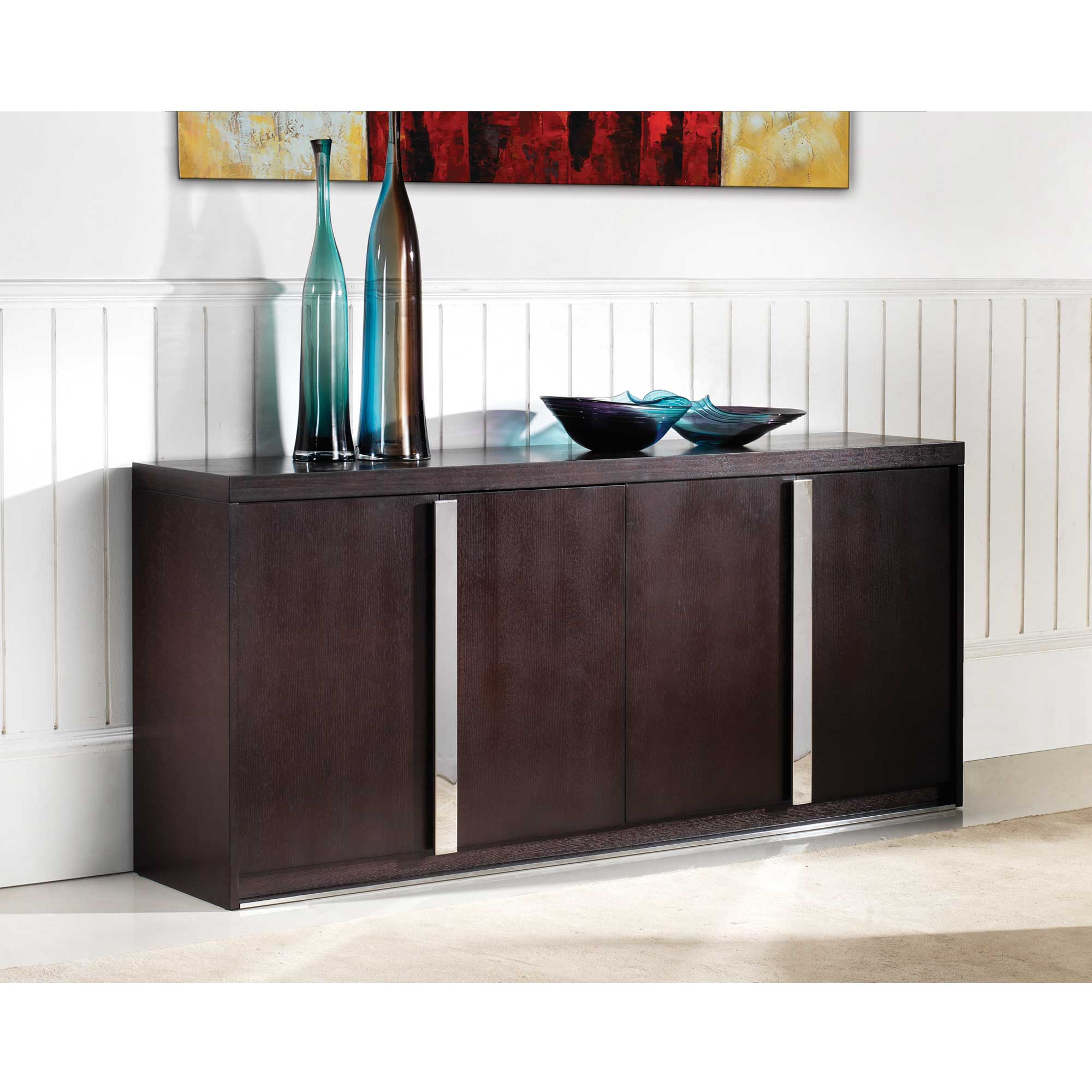 Wenge buffet home deco - Sideboard wenge ...